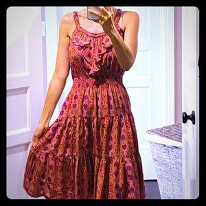 Rebecca Taylor flowy midi dress